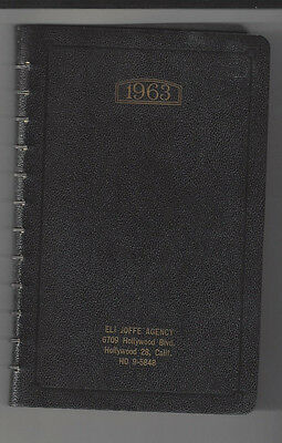 Vintage Usc Student Diary Journal 1963 Mention Of John F Kennedy Assassination
