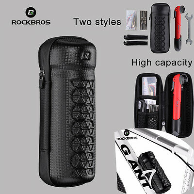 RockBros Cycling Tool Capsule Boxes Rainproof BikeTool Bag Black Set Bottle Cage