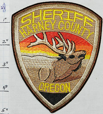 Oregon, Harney County Sheriff Dept Patch