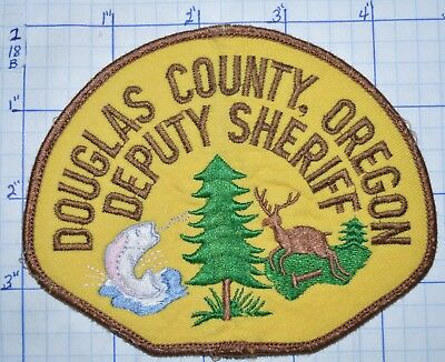 Oregon, Douglas County Deputy Sheriff Version 1 Patch