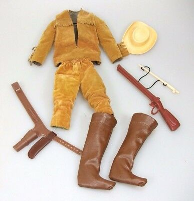 Big Jim Karl May Old Shatterhand Outfit Western Mattel