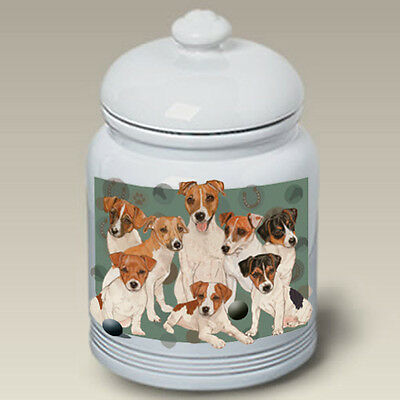 Ceramic Treat Cookie Jar - Jack Russell Terrier (PS) 52024