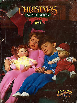 1986 Sears Wish Book 86 Christmas Catalog
