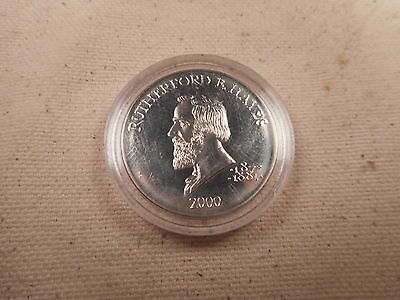 2000 Liberia Rutherford B Hayes Five Dollars - Nice Album Coin - # 022510