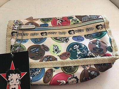 Betty Boop Cosmetic Bag New With Tag