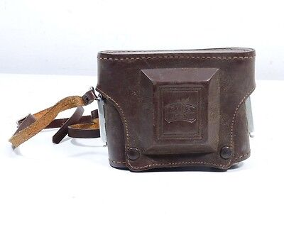 Vintage Zeiss Ikon Leather Camera Case ONLY Ikonta
