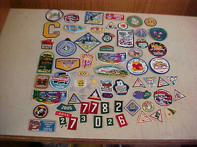 Lot Of Vintage To Recent Boy & GIRL Scout Patches BSA