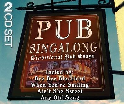 Pub Singalong - Traditional Pub Songs - 2 Cd Neu