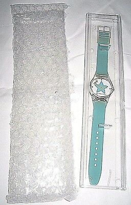 2006 eBay Taiwan Star Turquoise Band Watch--Brand New in Case