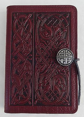 "Celtic Hound Oberon Design Leather Journal 5"" X 7"" Handmade in the USA"