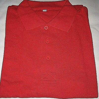 2005 eBay Eachnet China Large Red Polo Shirt--Brand New in Package