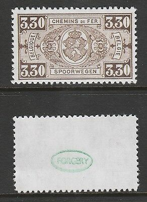 Belgium 3072 - 1923 RAILWAY PARCELS 3f30  -  a Maryland FORGERY unused