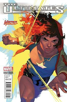 Ultimates #5 Women of Power Variant Edition, NM 9.4, 1st Print, 2016