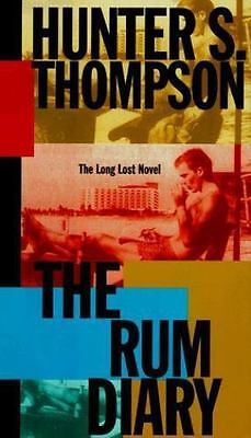 The Rum Diary : A Novel by Hunter S. Thompson (1998, Hardcover) 1st/1st Ed in DJ