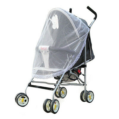*Universal Lace Safe Baby Carriage Insect Mosquito Net Baby Stroller Cradle Bed