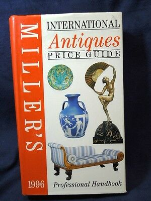 Millers International Antique Price Guide Book 1996 Professional Handbook