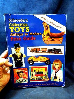 1996 Schroeder's Collectible Toys Price Guide Book