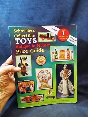1998 Schroeder's Collectible Toys Price Guide Book