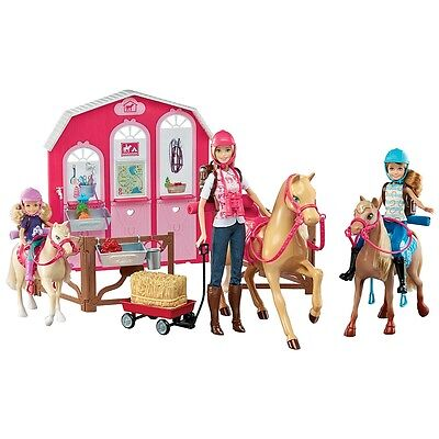 Barbie Pink Passport  Horse and Stable Giftset
