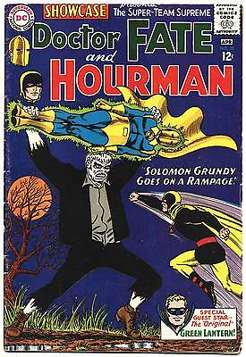 SHOWCASE #55 VG, Origin Dr. Fate, Hourman, 1st GA Green Lantern, DC Comics 1965