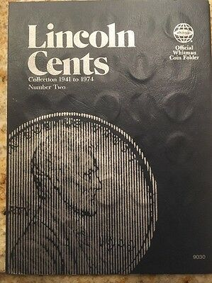 Lincoln Penny Collection 1941-1974 Album. Multiple Specimens Missing