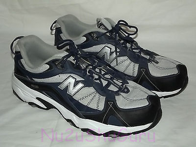 NEW BALANCE 480 Gray/Blue Running Sneakers Mens 12 4E