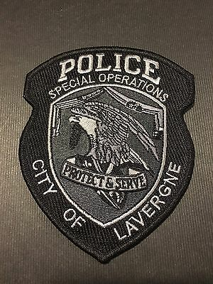 City Of Lavergne Tennessee  Police Special Operations   Shoulder Patch
