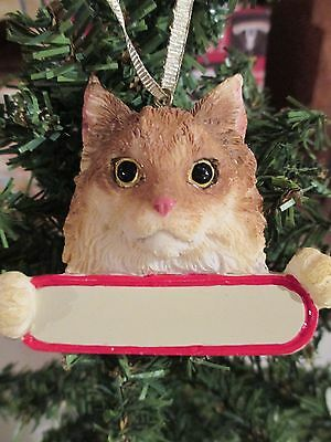 Cat ~ Maine Coon     ~ Ornament  #6