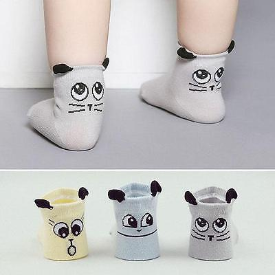 Baby Socks Unisex Boy Girl Soft Cartoon Cotton Socks NewBorn Infant Toddler Sock