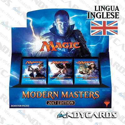 Box 24 Buste ☻ Modern Master 2017 ☻  MM17 ☻ MAGIC: THE GATHERING Andycards