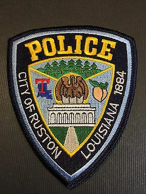 City Of Ruston Louisiana  Police Shoulder  Patch