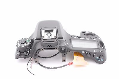 Canon EOS 80D Top Cover Assembly With Top LCD & Flash Replacement Repair Part