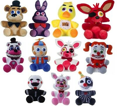 "New Official 10"" Five Nights At Freddys Plush Soft Toys Freddys Sisters"