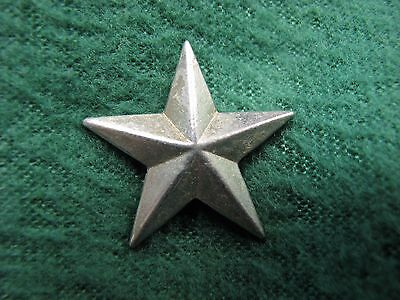"Vintage US Military Army Military Police Silver Star   Measures 1"" Across"