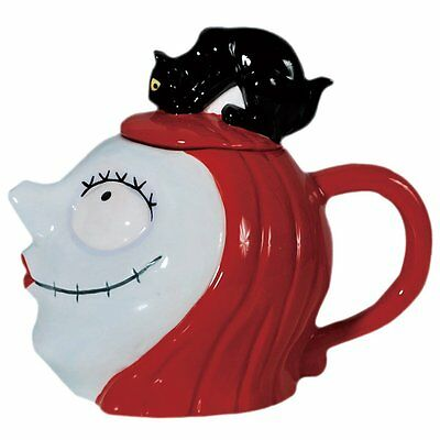 Nightmare before Christmas Sally with Cat Ceramic Teapot 32 oz - Westland Gifts