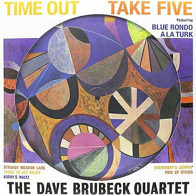 DAVE BRUBECK QUARTET Time Out LP Vinyl Pic Disc NEW