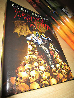 Glen Krisch THE NIGHTMARE WITHIN 1st/HB SIGNED/LIMITED MINT Thunderstorm Books