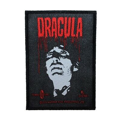 """Horror of """"Dracula"""" Vampire Movie Classic Monster Film Sew On Applique Patch"""