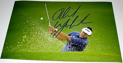 Phil Mickelson Golf Personally Hand Signed Autograph 12X8 Photo