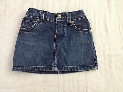Old Navy Baby Girl Jean Skirt 18-24 months old