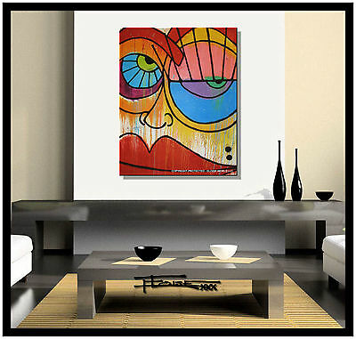 ABSTRACT CANVAS PAINTING MODERN WALL ART Listed by Artist US ELOISExxx
