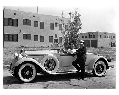 1931 Packard ORIGINAL Factory Photo Orchestra Leader Abe Lyman oub2621