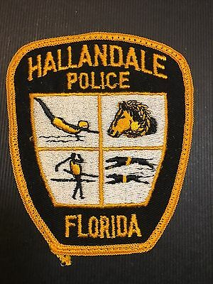 Hallandale Florida  Police  Shoulder  Patch