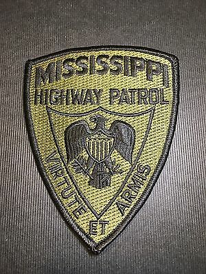 Mississippi Highway Patrol Subduded  Shoulder Patch