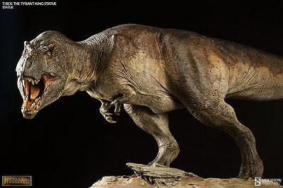 Sideshow Dinosauria Collectibles T-rex The Tyrant King Dinosaur Statue In Stock