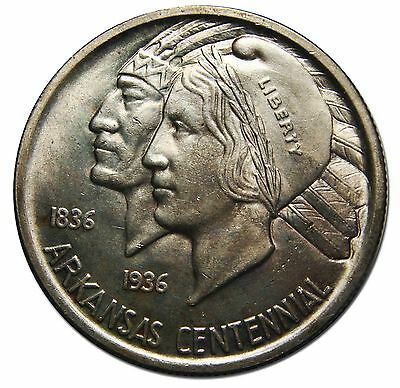 1936 Arkansas Commemorative Silver Half 50¢ Dollar Coin Lot MZ 4247