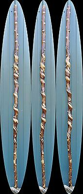 Awesome Walking Stick CANE Vine Twisted Cherry Wood Wizard Staff  6 ft 1 in USA