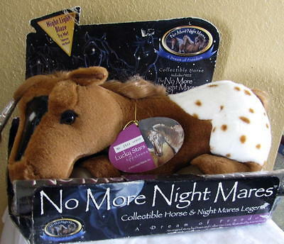 No More Night Mares Collectible Horse & Nighmares Legend Lucky Stars Appaloosa
