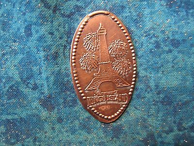 PARMOUNT'S KINGS ISLAND Elongated Penny Pressed Smashed 3