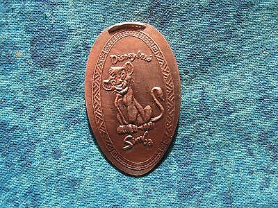 SIMBA DISNEYLAND Elongated Penny Pressed Smashed 10K